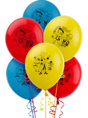 Latex Jake and the Never Land Pirates Balloons 12in 6ct