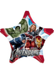 Foil Star Avengers Balloon 33in