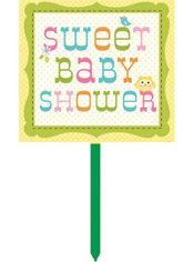 Owl Baby Shower Yard Sign