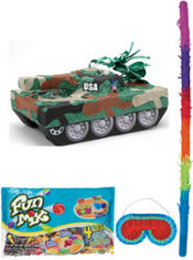 Pull String Tank Pinata Kit