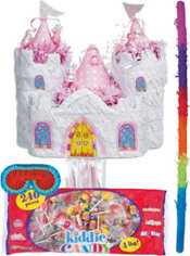 Pull String Castle Pinata Kit