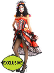 Adult Sexy Day of the Dead Costume