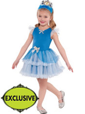 Girls Tutu Cinderella Costume