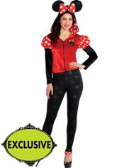 Adult Flirty Minnie Mouse Costume