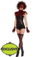 Adult Flirty Fire Bird Costume