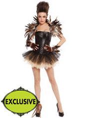 Adult Tutu Night Owl Costume