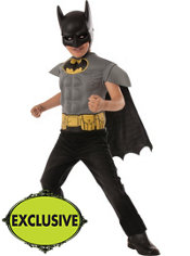 Boys Batman Muscle Costume