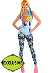 Adult Sweet Rainbow Dash Costume - My Little Pony