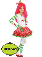 Girls Strawberry Shortcake Costume