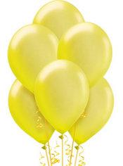 Yellow Pearl Balloons 15ct