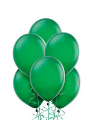 Festive Green Balloons 20ct