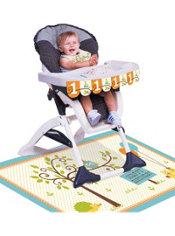 Boy 1st Birthday High Chair Decorating Kit 3pc - Happi Woodland