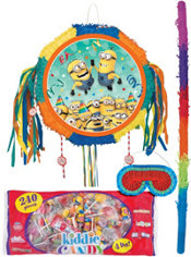 Pull String Minions Pinata Kit - Despicable Me