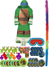 Leonardo Pinata Kit with Favors - Teenage Mutant Ninja Turtles