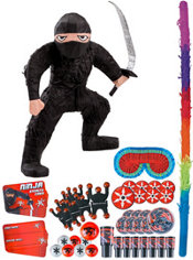 Ninja Pinata Kit with Favors