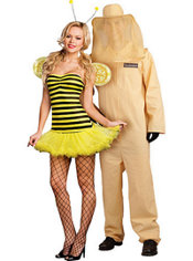 Honey Bee and Bee Keeper Couples Costumes