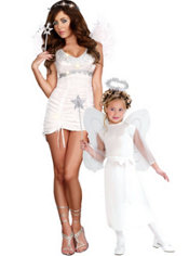 Heavenly Angel Mommy and Me Costumes