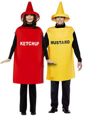 Ketchup and Mustard Couples Costumes