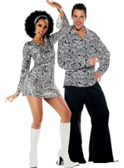 Funky 70s Couples Costumes