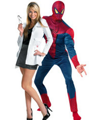 Gwen and Amazing Spider-Man Couples Costumes