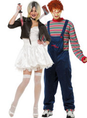 Bride of Chucky and Chucky Couples Costumes