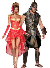 Dragon Lady and Dragon Lord Couples Costumes