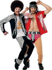 Red Foo and Skyblu LMFAO Couples Costumes