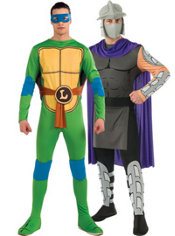 Leonardo and Shredder Couples Costumes