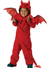 Toddler Boys Lil Spitfire Devil Costume