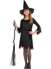 Girls Lil Witch Costume
