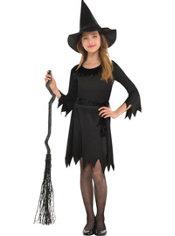Girls Lil Witch Costume