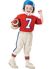 Toddler Boys Li'l Quarterback Football Costume