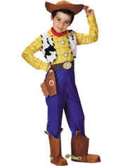 Boys Woody Costume Deluxe - Toy Story