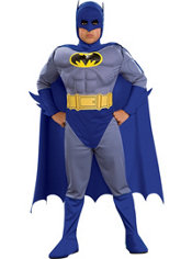 Boys Batman Muscle Costume - The Brave and the Bold