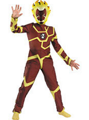 Boys Heatblast Costume - Ben 10