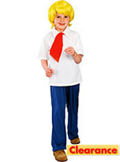 Boys Fred Costume - Scooby-Doo