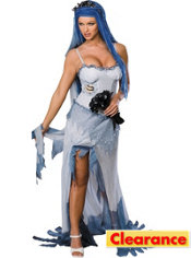 Adult Sexy Corpse Bride Costume