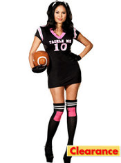 Adult Tackle Me Football Player Costume Plus Size