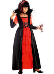 Girls Regal Vampira Vampire Costume