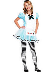 Teen Girls Adorable Alice Costume