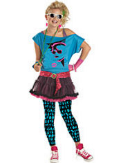 Teen Girls 80's Valley Girl Costume