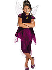 Girls Vidia Costume - Tinker Bell and the Great Fairy Rescue