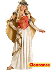 Girls Viking Princess Costume Elite