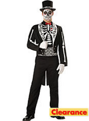 Adult Graveyard Groom Costume Elite