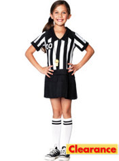 Girls Half Pint Referee Costume