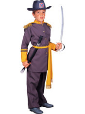Boys Robert E. Lee Confederate Costume Deluxe