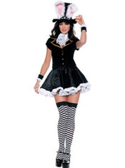 Adult Totally Mad Mad Hatter Costume