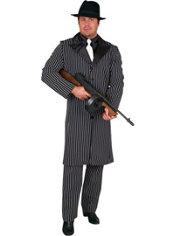 Adult Long Coat Gangster Costume
