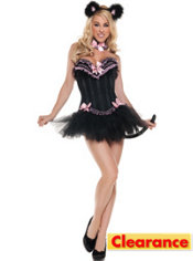 Adult Carousel Kitty Cat Costume