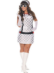Adult Miss Mod Costume Plus Size